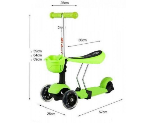 Детский самокат ScooTer 3 in 1