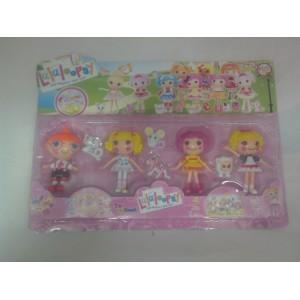 Игровой наборо кукол из серии Лалалупси LALALOOPSY из 8-ми фигурок