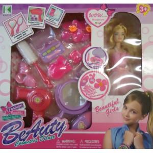 Игрушечный набор для девочек + кукла BEAUTIFUL GIRLS