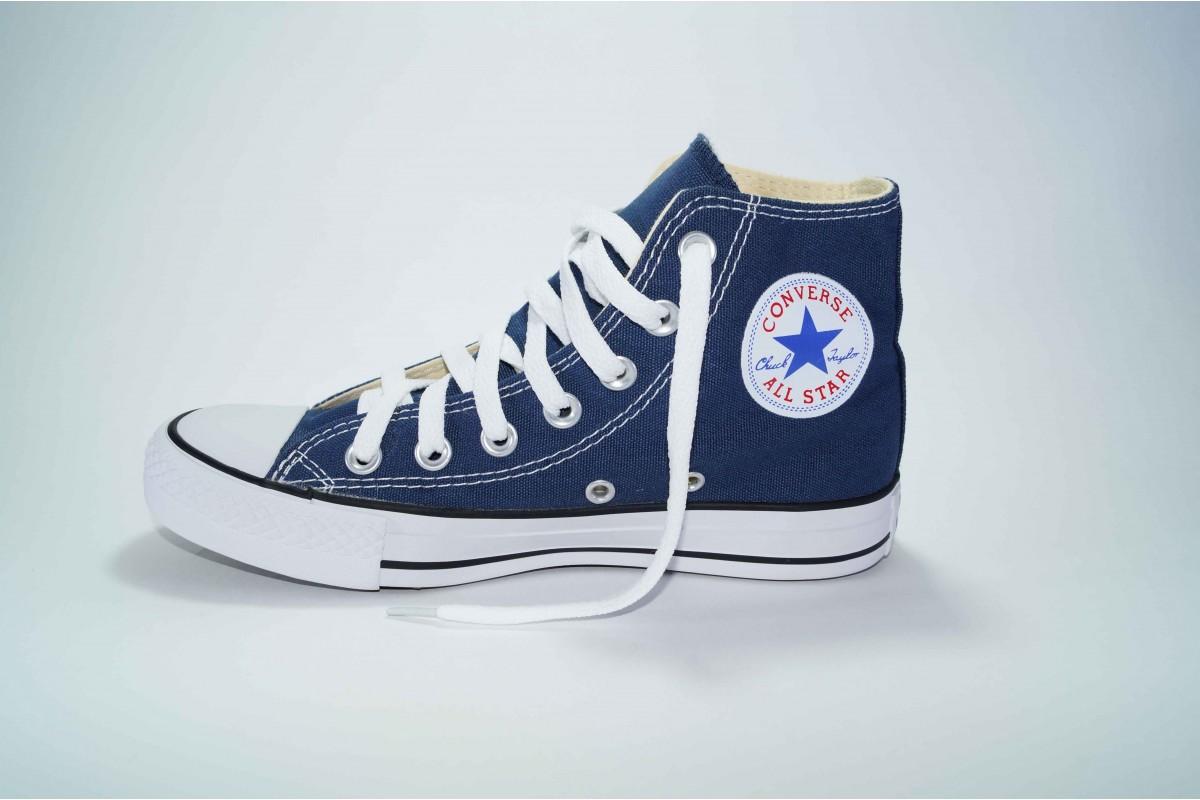 Кеды Converse (конверс) Chuck Taylor All Star высокие синие р-р 36-40  Артикул  con-v-7 7980e7234749e