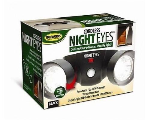 Беспроводной фонарь на стену с датчиком движения Cordless Night Eyes