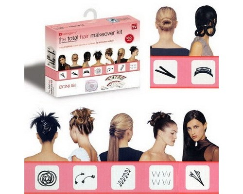 Заколки Hairagami Total Hair Make Over Kit