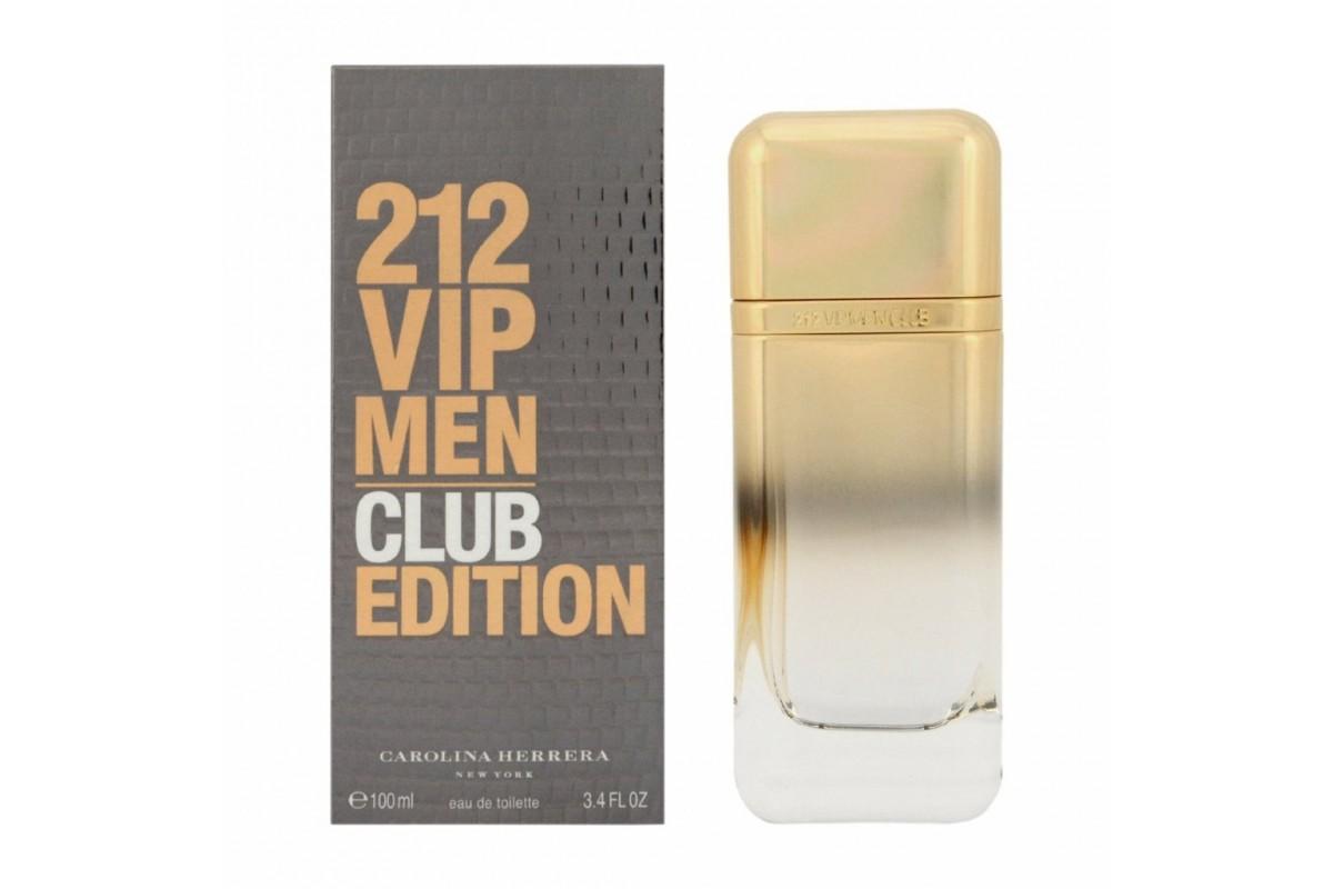 Парфюмированная вода Carolina Herrera 212 VIP CLUB EDITION для мужчин 100 мл.