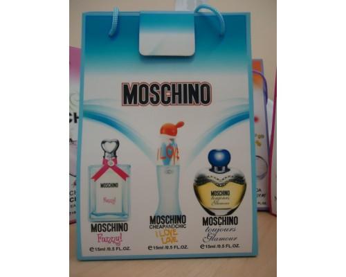 Набор женский подарочный Moschino