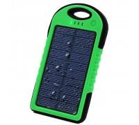 Power Bank с солнечной батареей, 5000 мАч