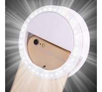 Светодиоидное селфи кольцо Selfie Ring Light RK-12