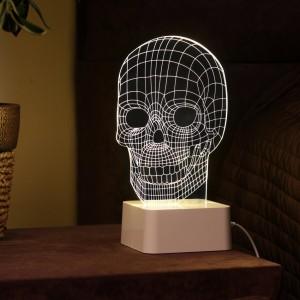 Лампа с сенсорной панелью 3D