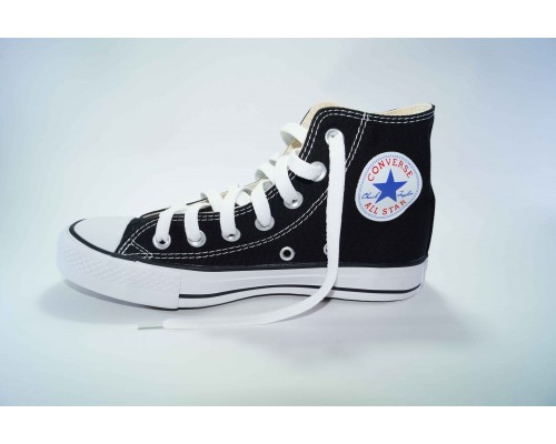 Кеды Converse (конверс) Chuck Taylor All Star высокие черно-белые р-р 36-40 Артикул: con-v-8