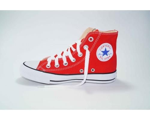 Кеды Converse (конверс) Chuck Taylor All Star высокие красные р-р 36-40 Артикул: con-v-5