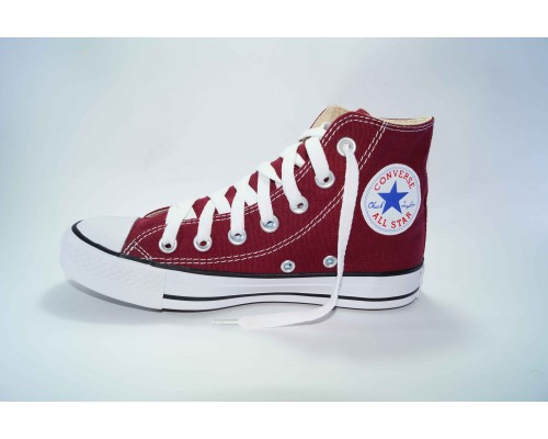Кеды Converse (конверс) Chuck Taylor All Star высокие бордовые р-р 41-45 Артикул: con-v-21