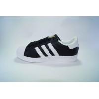 Adidas Superstar чёрные с белым  Арт:  B5011-1