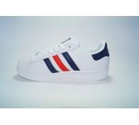 Adidas Superstar триколор  Арт: В5014-3