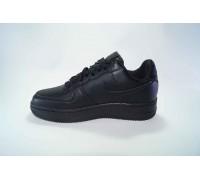 Nike airforce I низкие чёрные  Арт: B5000-2