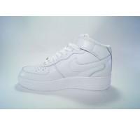 Nike airforce I высокие белые  Арт: B5001-1