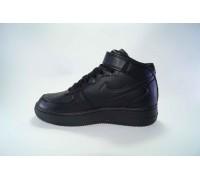 Nike airforce I высокие чёрные  Арт: B5001-2