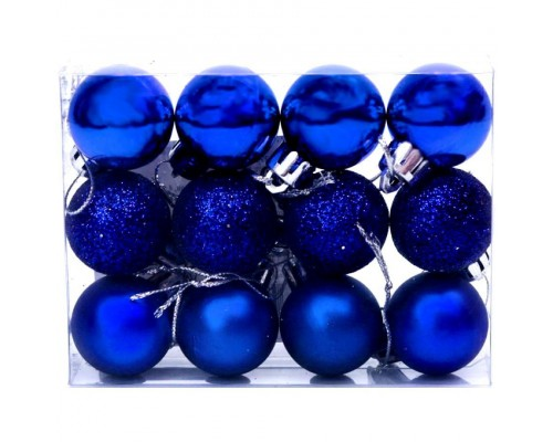 Набор шаров для елки 12 шт.