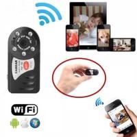 Беспроводная скрытая онлайн WI-FI мини камера Q7